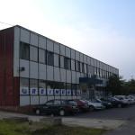 Administrativní budova před rekonstrukcí