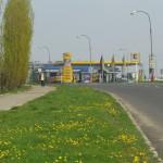 Čerpací stanice JET v Mostě