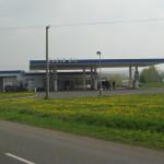Čerpací stanice Robin Oil v Mostě